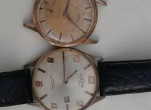 ساعة قديمة 17 جوهرة طراز قذيفة