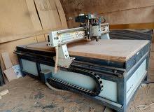 ماكينه CNC بيكاترونكس صناعة مصريه للنحت والحفر علي الخشب بجميع الاشكال 3D