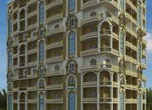 برج قمبر شقق للبيع التسليم فوري في شبين الكوم البر الشرقي بالقرب من نادي الشرطة