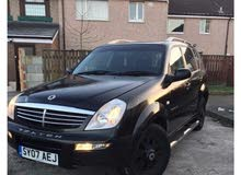 SsangYong Rexton 2005 For sale - Black color