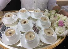 خدمة عصير الشاي القهوة