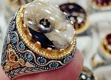 مغارة الاحلسي لجميع انواع الخواتم الفضه اليماني والتركي الخالص والعقيق اليماني.
