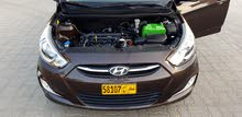 للبيع فقط  للبيع هونداي أكسنت خليجية وكالة عمان موديل 2015 قوة المحرك 1.6