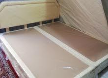 سرير زوجي لشخصين سليب ايزي استخدم 2شهر فقط