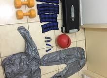 ادوات رياضية و اوزان