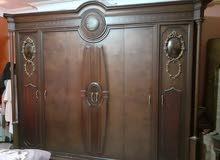غرفة نوم انتيكة خشب زان