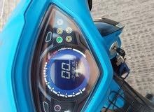 دراجة نارية من نوع (volt) بلاكة صغيرة