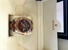 Rolex Datejust 41mm Two Tone Yellow Gold Steel Wimbledon