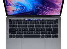 Macbook pro i5 - 2.4 arabic keyboard with touch bar