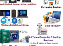 computer Services and Software installations