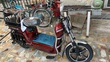 دراجة شحن + بايدر جديدة