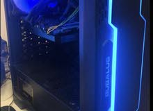PC with curved Monitor