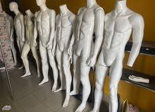مجسمات ومنيكان رجالية للبيع بخامة فايبر القوية
