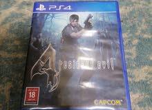 شريط Resident Evil 4مستعمل للبيع او للبدل