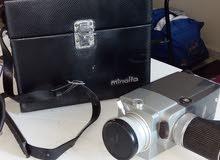 كاميرا فيديو قديمة كونيكا ياباني عمرها 50 عام
