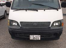 2002 New Hiace with Manual transmission is available for sale