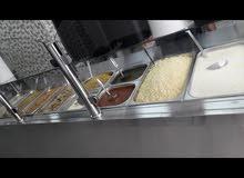 مطعم مميز بموقع حيوي جاهز ومرخص بجميع معداته للبيع بخلو بسعر مغري