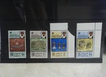 طوابع بعضها من السبعين غبر مستخدمه