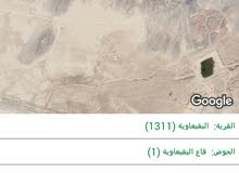 أرض للبيع 10دونمات 1800دينار كامل القطعه عند الشجره المباركه