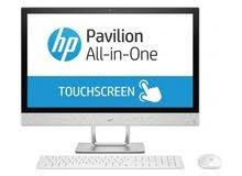 HP Core i7 12GB RAM 1TB HDD 23.8-inches Touch Screen Desktop (24-F0002NE) - Snow White