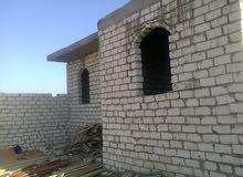 منزل ارضي للبيع  بمدينة الزاوية بالسيدة زينب