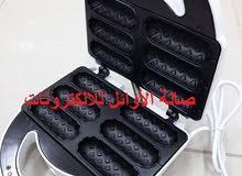 ماكينة السندويتشات ( ماكينة الخبزة المحشية ) 6 طروف ( قطع ) 750W واط