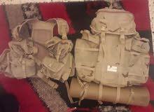 حقيبه عسكريه + جعب