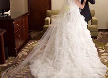 بدلة عرس بيضاء white wedding dress