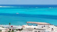 شقه للايجار المصيفي فيو كامل للبحر بشارع الاسكندريه أمام مبنى المحافظة