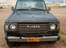 Grey Toyota Land Cruiser 1987 for sale