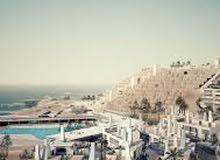 شاليه للبيع 140#بعد فندق Movenpick ب 7 كيلو