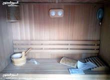 ساونا حمام بخارية منزلية اللبيع