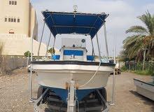 قارب مسطح 27 قدم