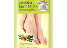علاج تشققات القدم الكوري foot mask