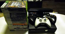 Xbox 360 250GB Edition Kinect +18  Authentic X360Games+Free Controllers