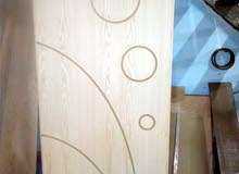 ابواب خشب تفصيل حسب القياسية قشرة بلوط نخب اول