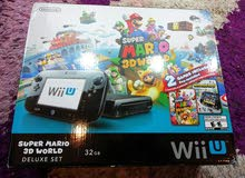 Nintendo Wii U device with advanced specs and add ons for sale directly from the owner