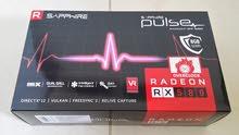 كرت Sapphire Pulse RX 580 8GB للألعاب القوية