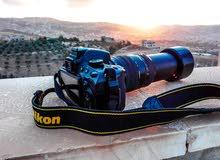 كاميرا نيكون  5100 بحالة الوكالة