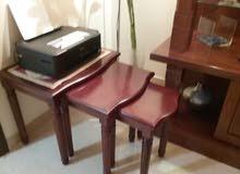 طاولات سرفيس المجموعة 3 طاولات مختلفة الحجم - من هوم سنتر