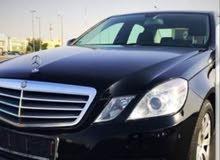 Black Mercedes Benz E 200 2013 for sale