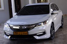 White Honda Accord 2016 for sale