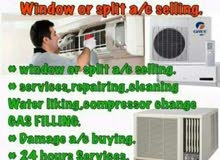AC SALE AND SERVICES, REPAIR AVAILABLE
