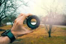 مصور فوتوغرافي اجيد بتصوير الفوتغراف والفيديو والمونتاج