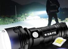 كشان LED نور قوي،، لون أبيض (مع سلك شاحن)