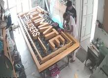 مصنع ساين بلس لتصميم وتنفيذ كافة أنواع الاعلانات والأحرف والواجهات