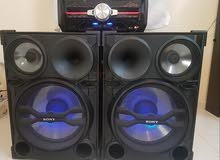 Sony speakers with DJ shake, good sound