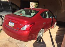 Automatic Red Nissan 2012 for sale
