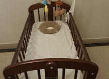 سرير اطفال خشبي ماركة juniors
