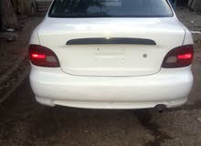 Automatic White Hyundai 1997 for sale